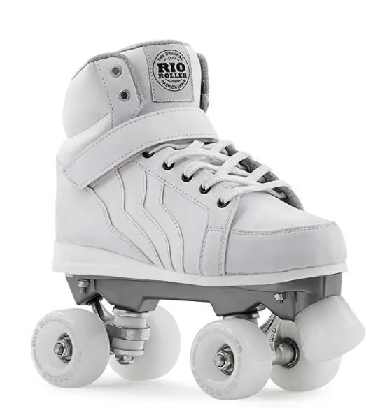 RIO ROLLER(リオローラー) クワッドスケート KICKS White ローラースケート