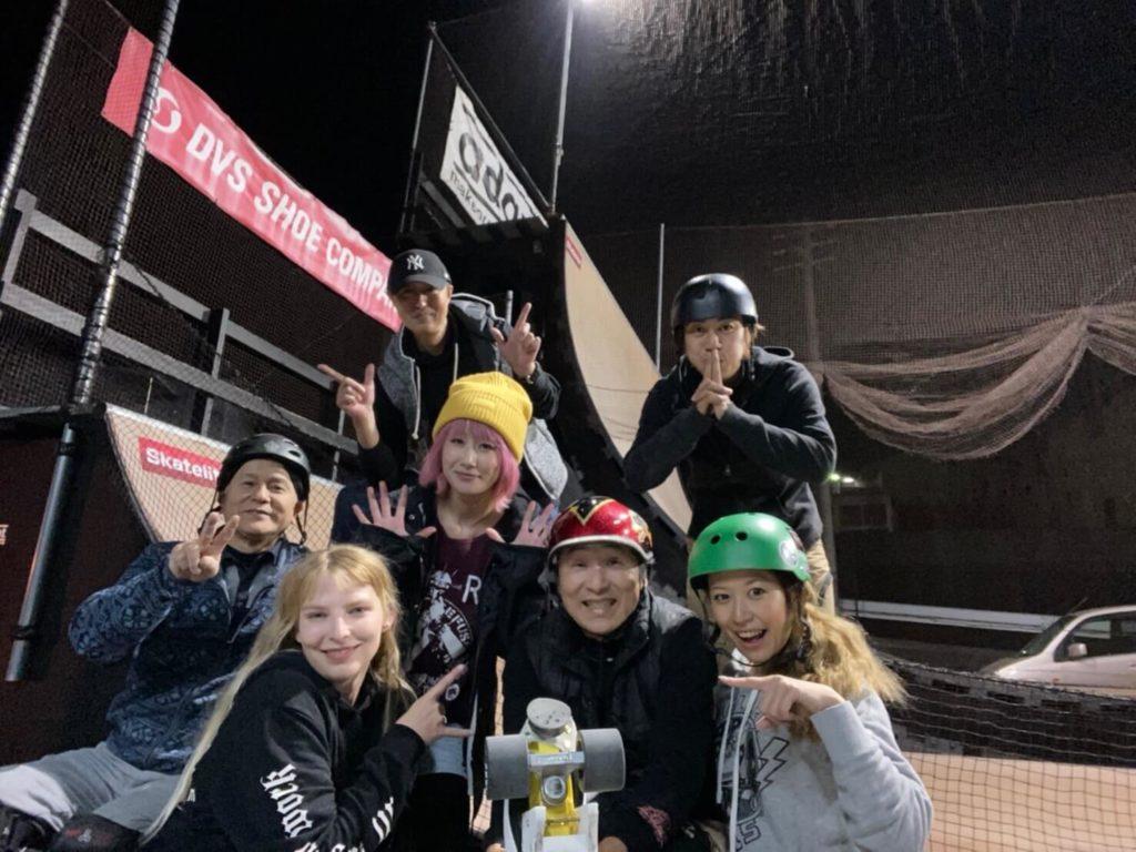 ポーランドのローラースケーターAnnnaが福岡にやってきた!