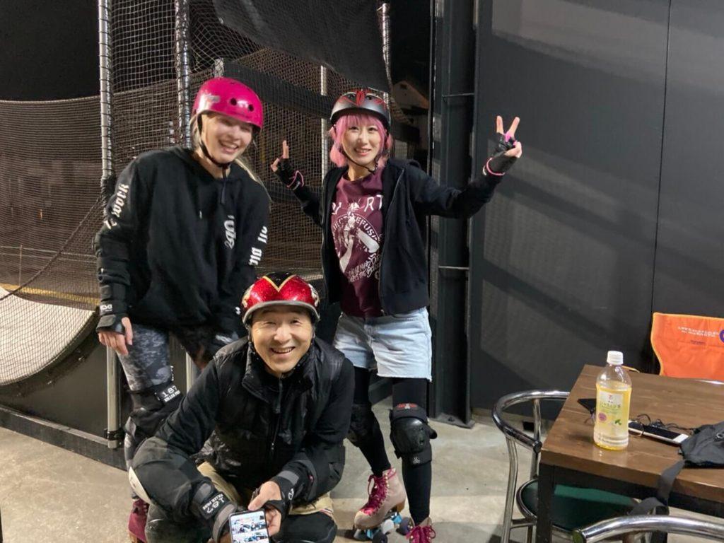 ポーランドのローラースケーターANNAが私たちの住む福岡までローラースケートセッションをしにやって来た!
