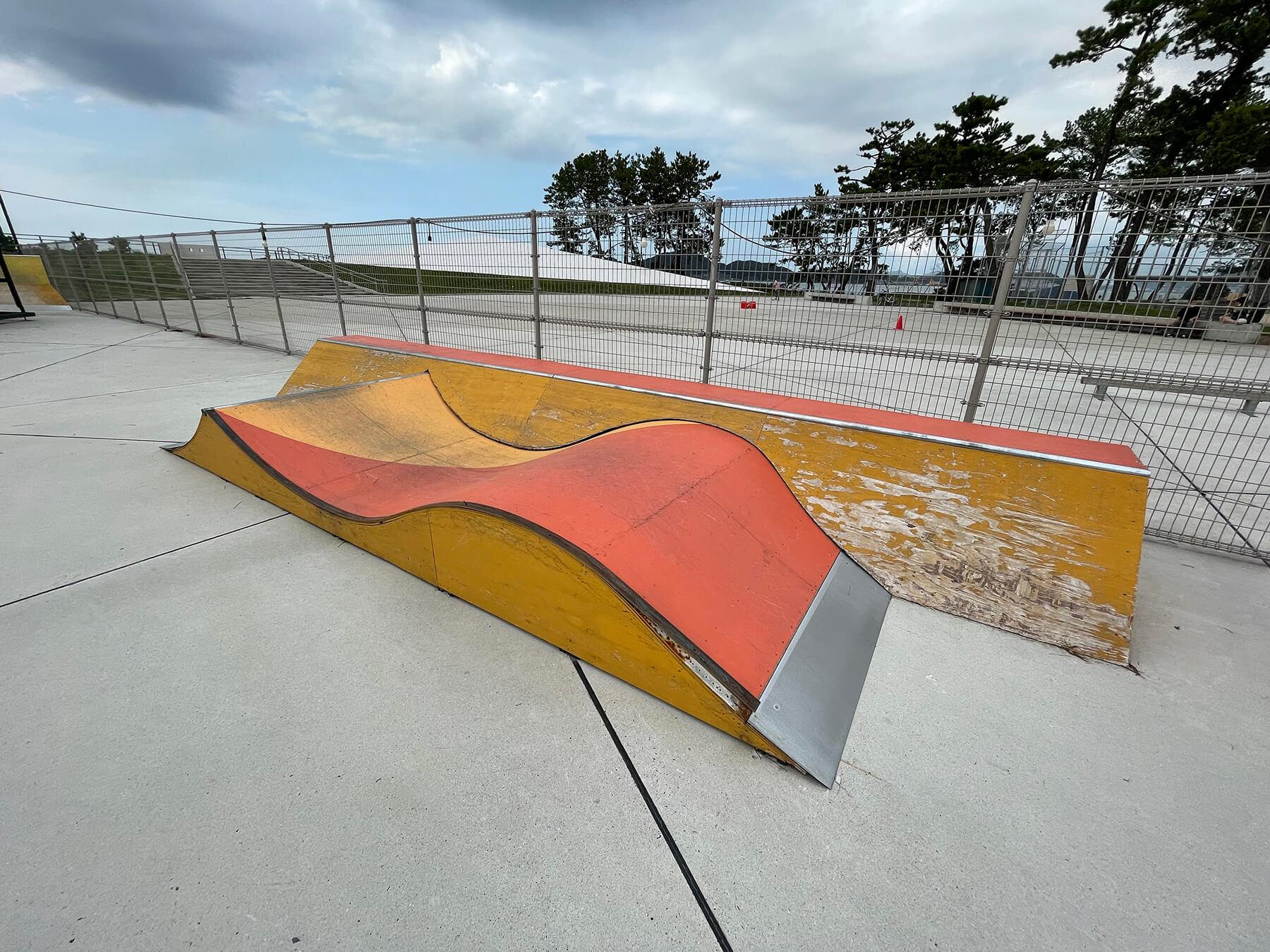 北九州スケートボードパーク 延命寺臨海公園