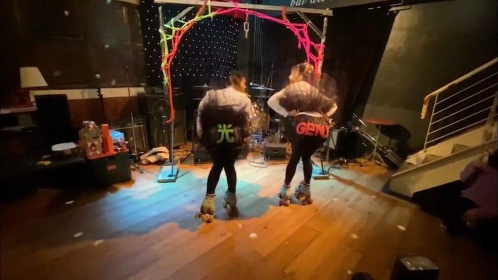 【イベントレポ】女性だらけのロックンロールイベント「オールガールズ オルガズム 2020」にローラースケートで出演しました!